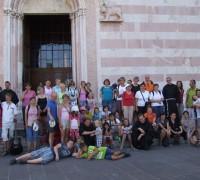 Iz romanja v Assisi