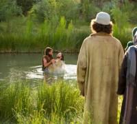 Oznanila, Jezusov krst